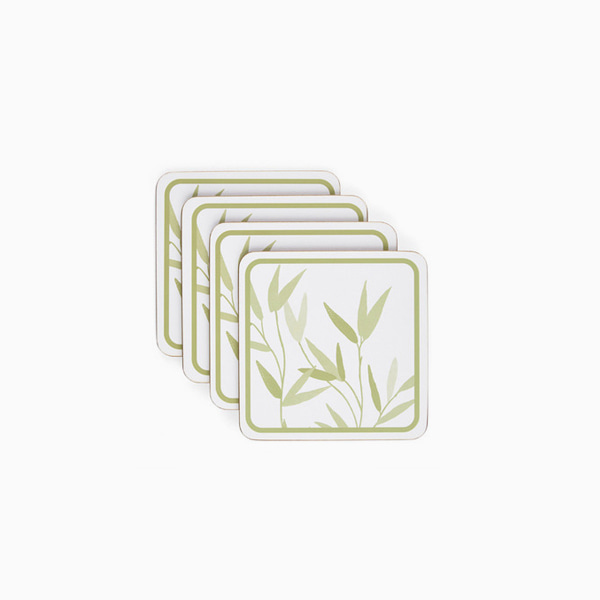 윌로우 컵받침세트 WILLOW LEAF SET OF 4 COASTERS