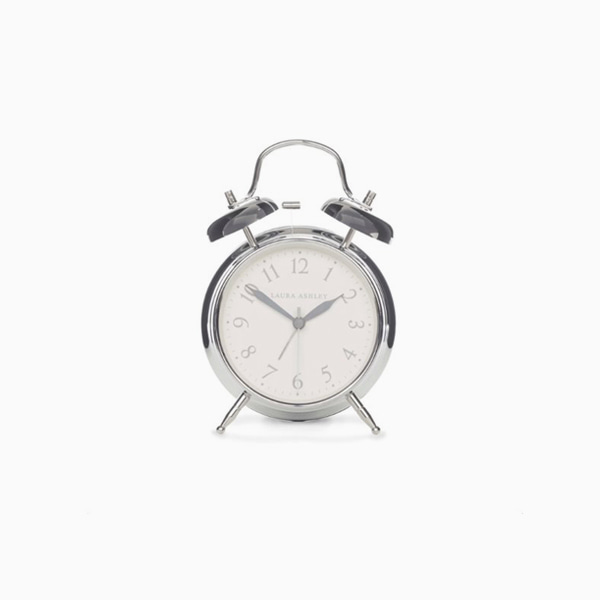 [재입고]크롬 알람시계 CHROME MEDIUM BELL ALARM CLOCK